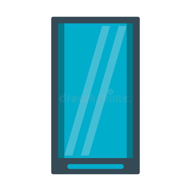 Smartphone technologii mobilny symbol royalty ilustracja