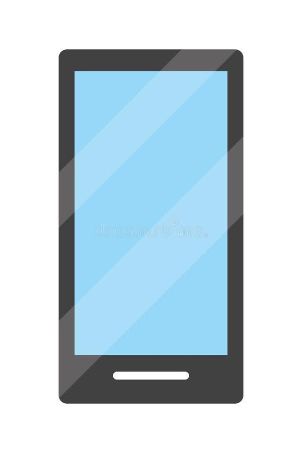 Smartphone technologii nowożytny pożytecznie odosobniony ilustracja wektor