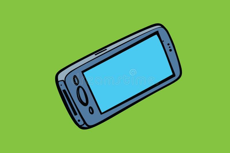 Smartphone telefon odizolowywa, gadżety i elektronika royalty ilustracja