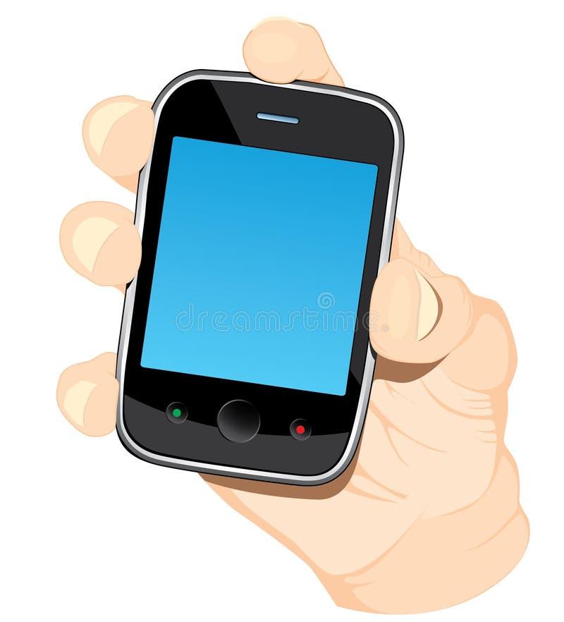Smartphone ter beschikking stock foto's