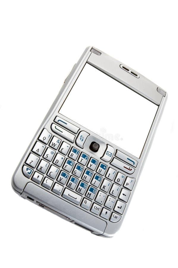 Smartphone trennte auf Weiß stockbilder