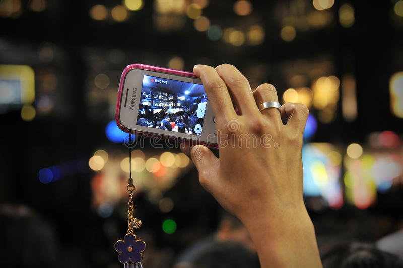 Download Smartphone User editorial stock image. Image of citizen - 30718434