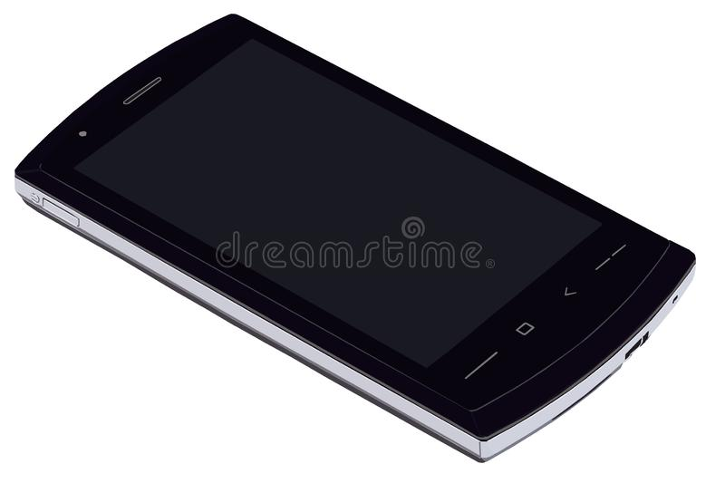 Smartphone, the vector image stock illustration