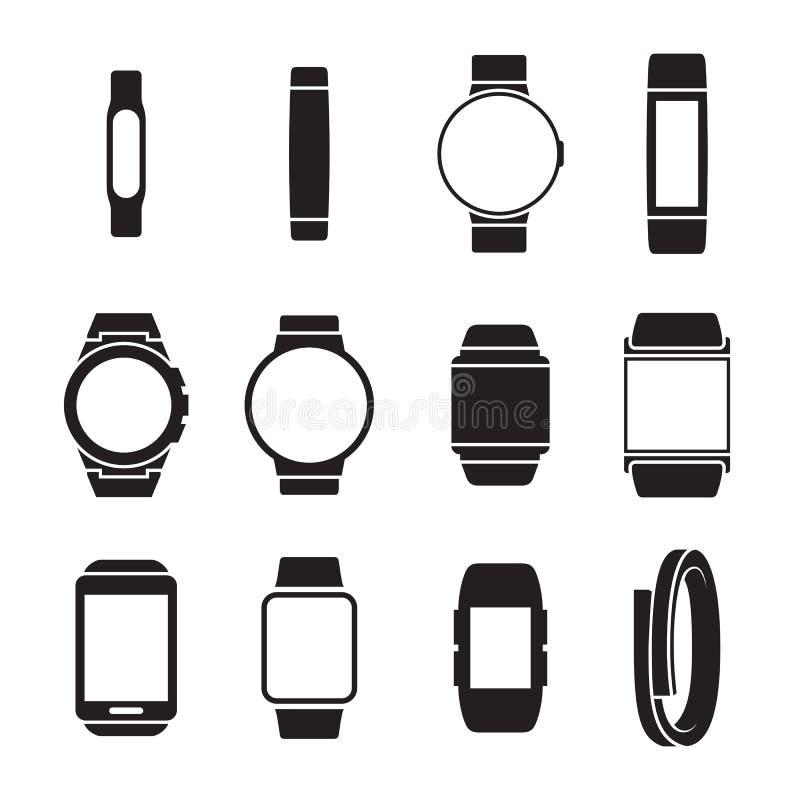 Smartwatch象 向量例证