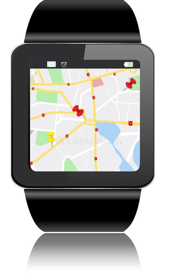 Smartwatch иллюстрация вектора
