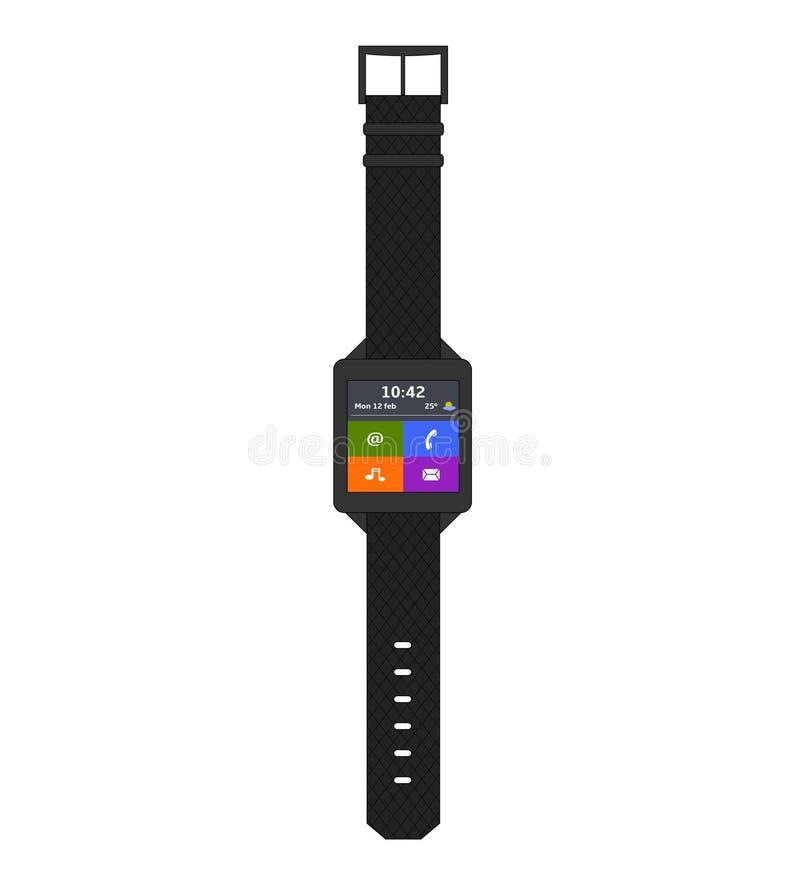 Download SmartWatch иллюстрация вектора. иллюстрации насчитывающей цифрово - 40587120