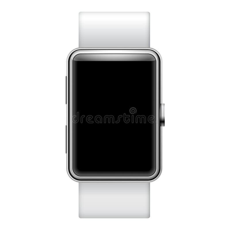Smartwatch en blanco ilustración del vector