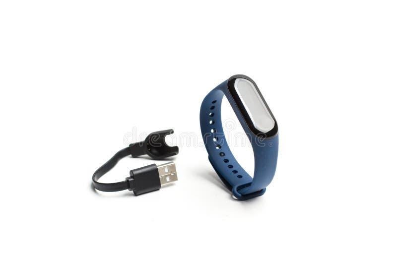 Smartwatch para esportes de formação imagens de stock