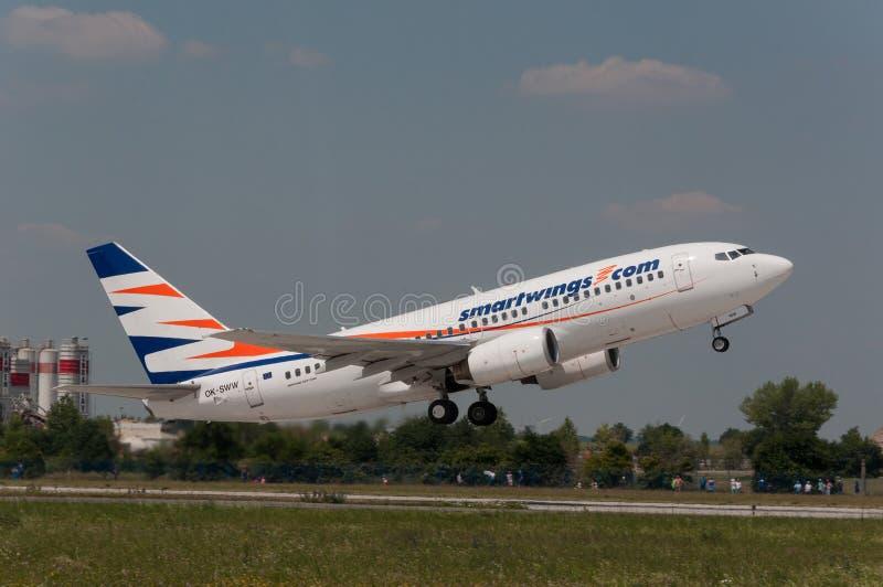 Smartwing Boeing B737 stock foto