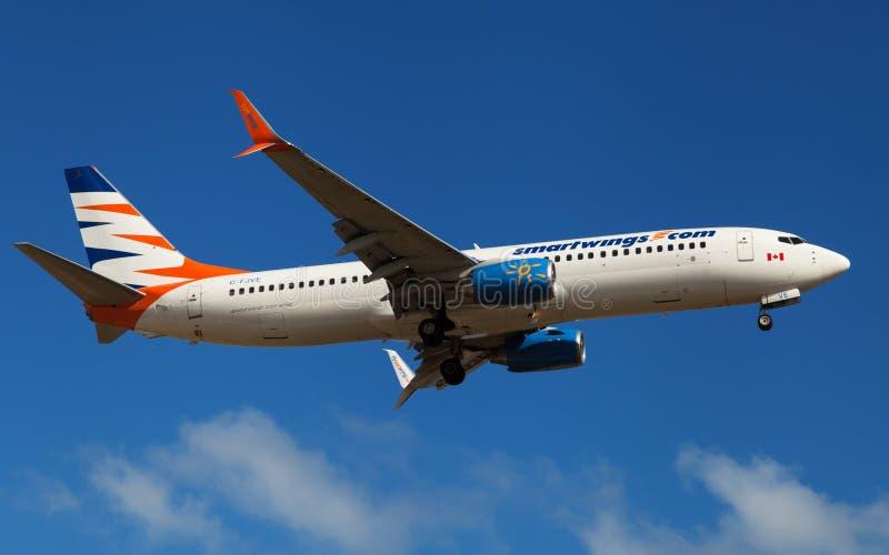 Smartwings Sunwing Boeing 737 stock photos