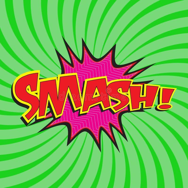 Free Smash! Wording Stock Photos - 47729953