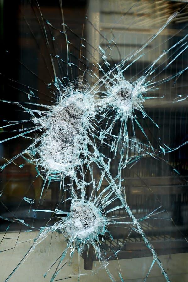 Free Smashed Window Stock Image - 4354891