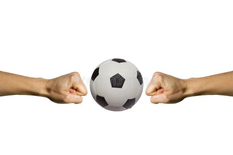 Download Smashing Soccer stock photo. Image of competition, leather - 2811414