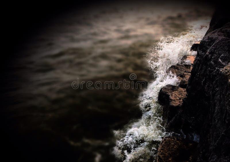 Smashing Waves stock photography