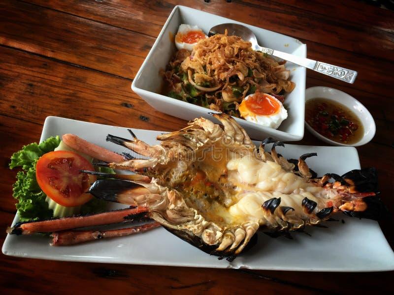 Smaskig mat i Thailand fotografering för bildbyråer