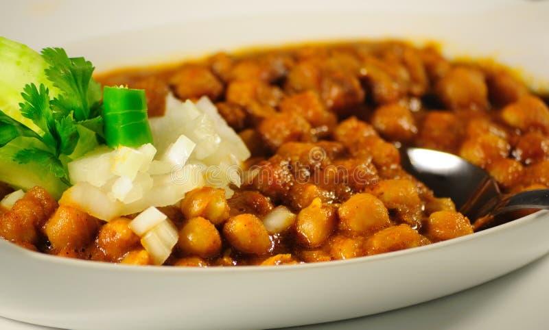 Smaskig Veg curry arkivbild
