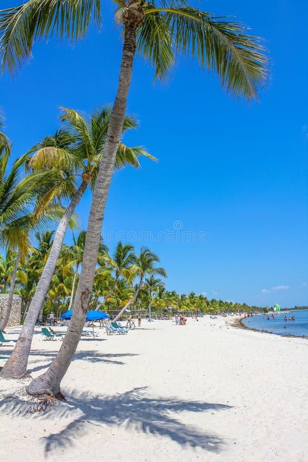 Smathers Beach Florida royalty free stock image