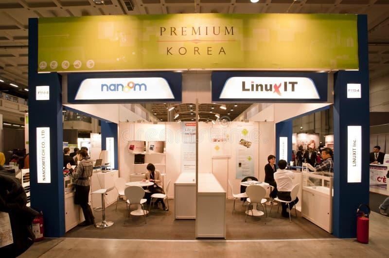 SMAU 2010 - Carrinho de Coreia foto de stock