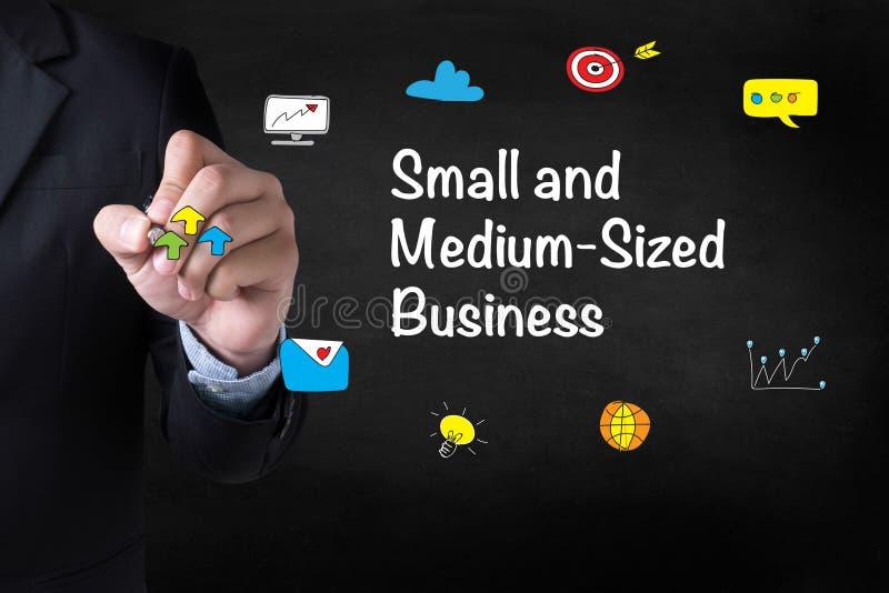 SMB - Pequena e média empresa imagens de stock