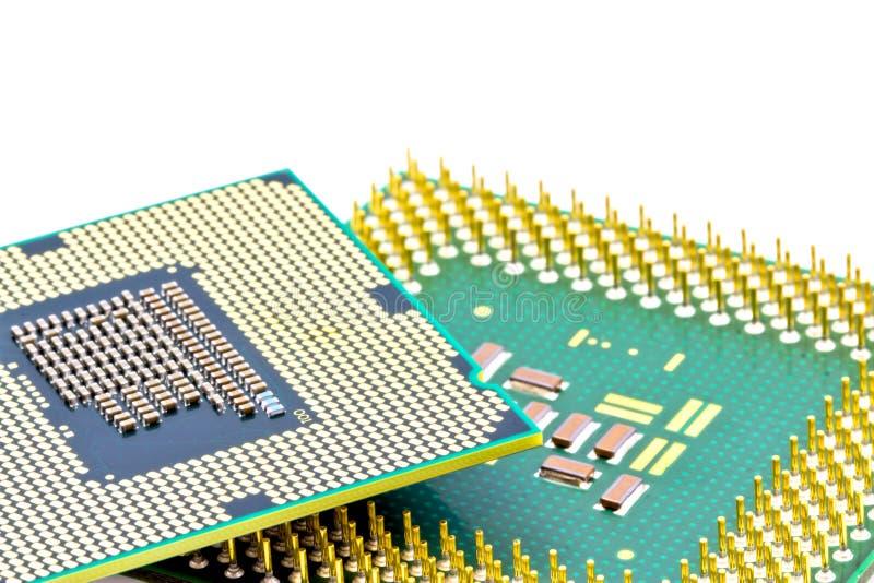 smd för underkantdelprocessorer royaltyfri fotografi