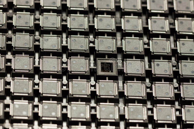 Download SMD integrated circuits stock photo. Image of rohs, assembly - 24624968