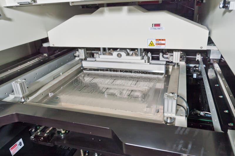 SMD, SMT-Montagewerkzeugkopf stockbild