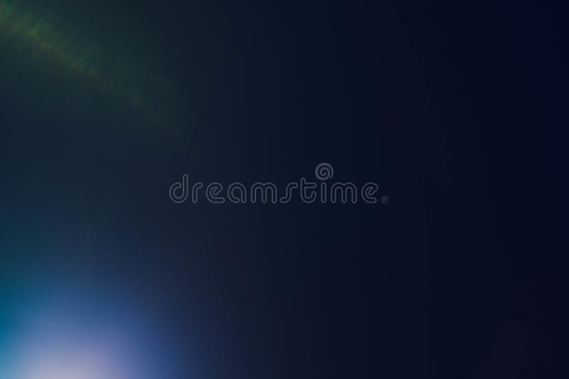 Smeared blue purple soft glow defocused light rays royalty free stock photography