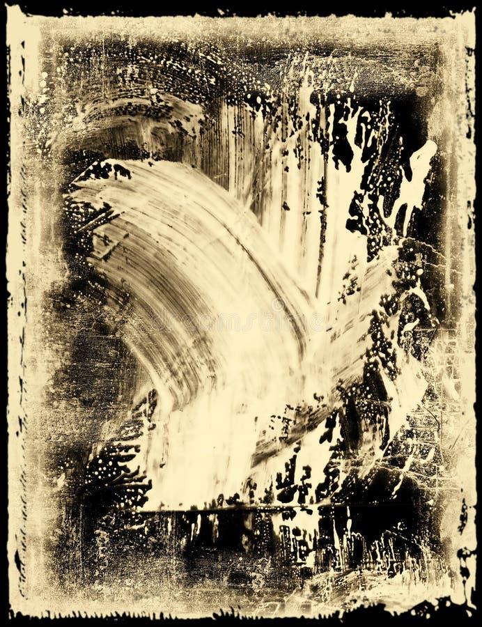 Smeared Film Emulsion Royalty Free Stock Image