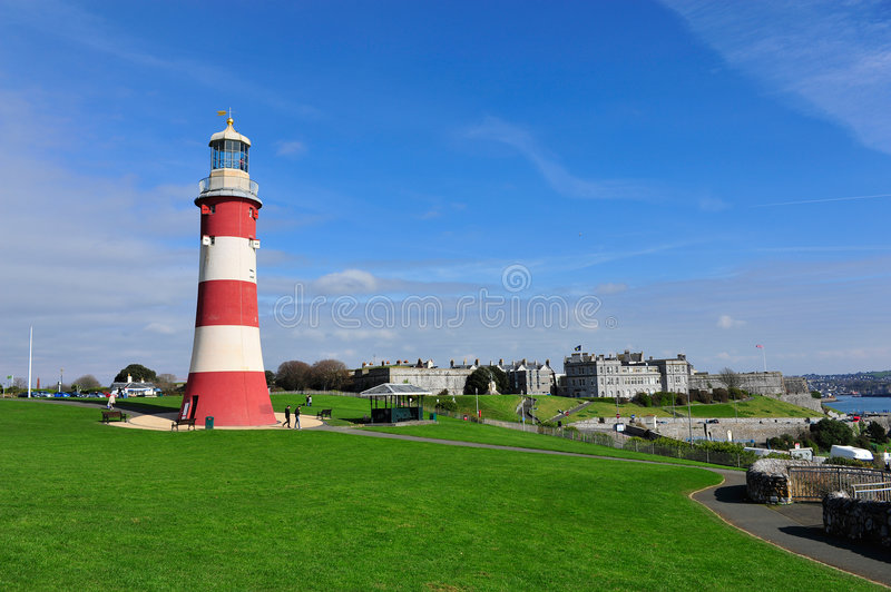 Smeatons tower. royalty free stock image