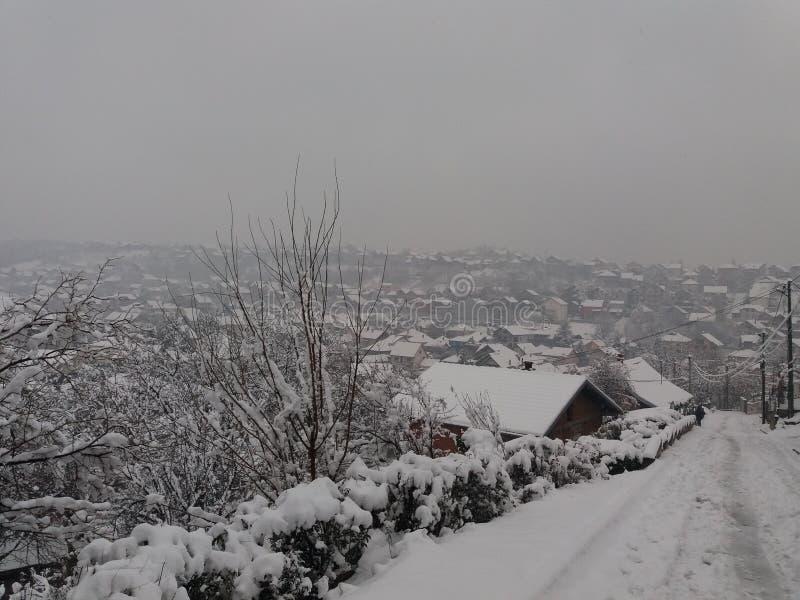 Smederevo - hiver image stock