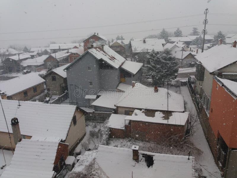 Smederevo - hiver photographie stock libre de droits