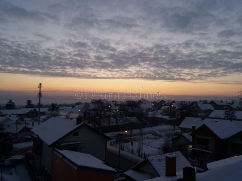 Smederevo - hiver photos stock