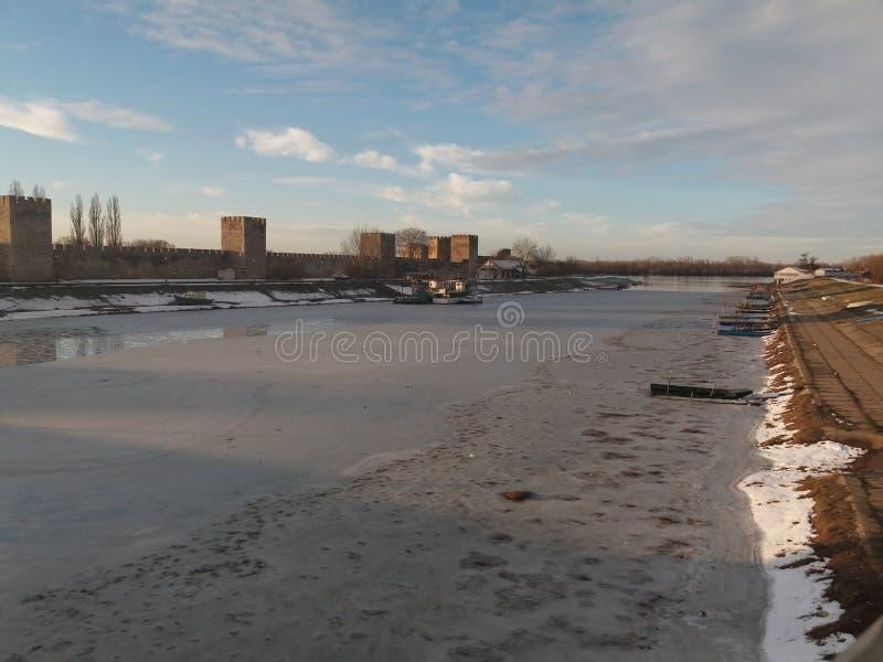 Smederevo - hiver photo stock