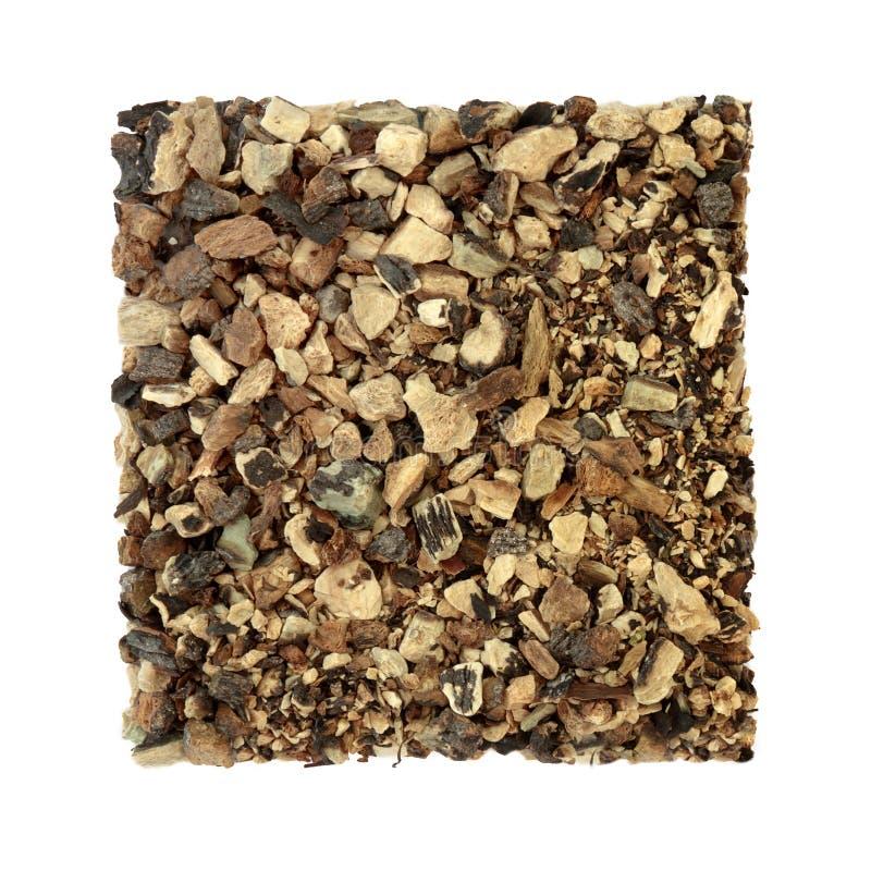 Smeerwortel Herb Root stock afbeelding