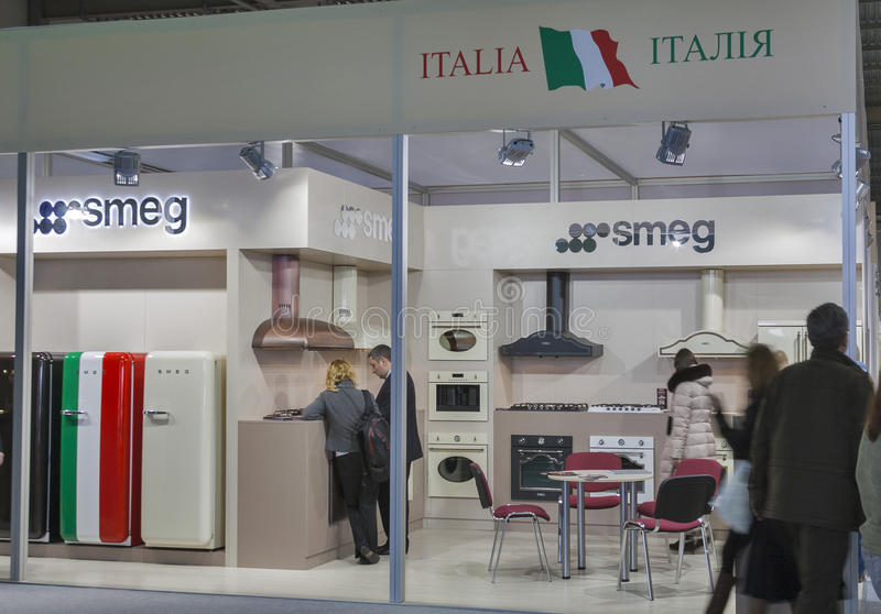 Download Smeg Italian Home Appliance Manufacturer Booth Editorial Stock Image - Image: 38160654