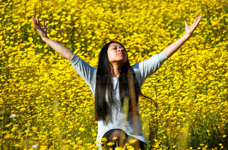 Download The Smell Of Spring Rejoicing Stock Image - Image: 30412275