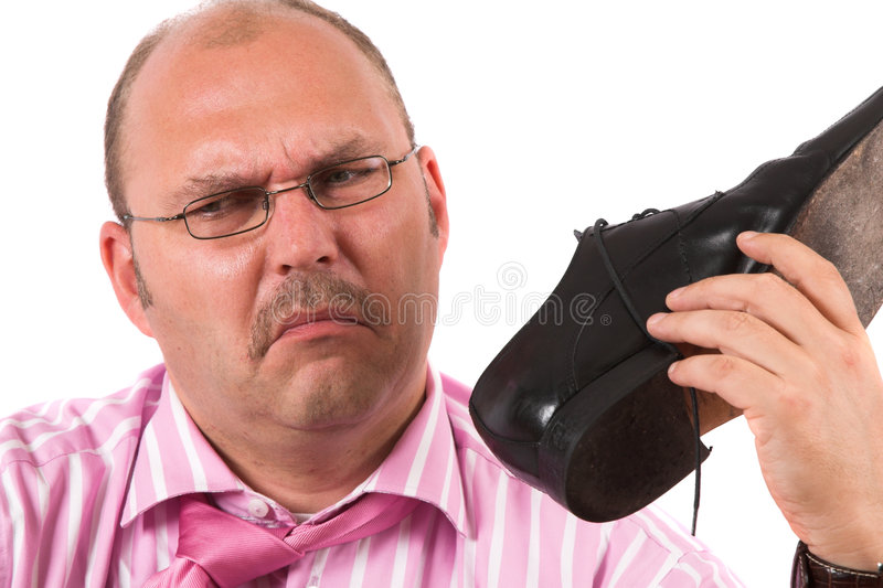 Smelly Feet Stock Photo Image Of Caucasian Masculine