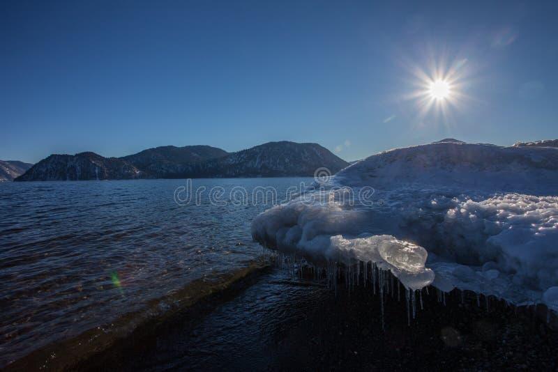Smeltend ijs royalty-vrije stock afbeelding