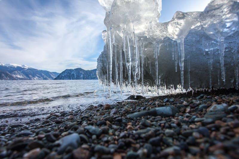 Smeltend ijs royalty-vrije stock fotografie