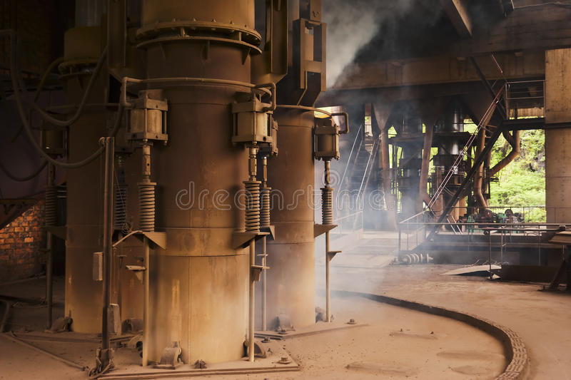 Download Smelting industry stock image. Image of flame, bright - 23565889