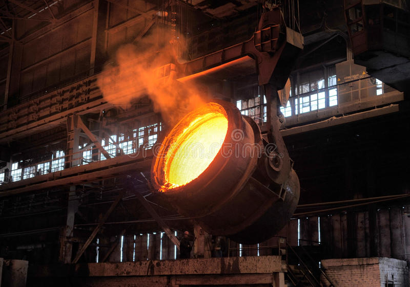 Download Smelting of the metal stock image. Image of industry - 33342941