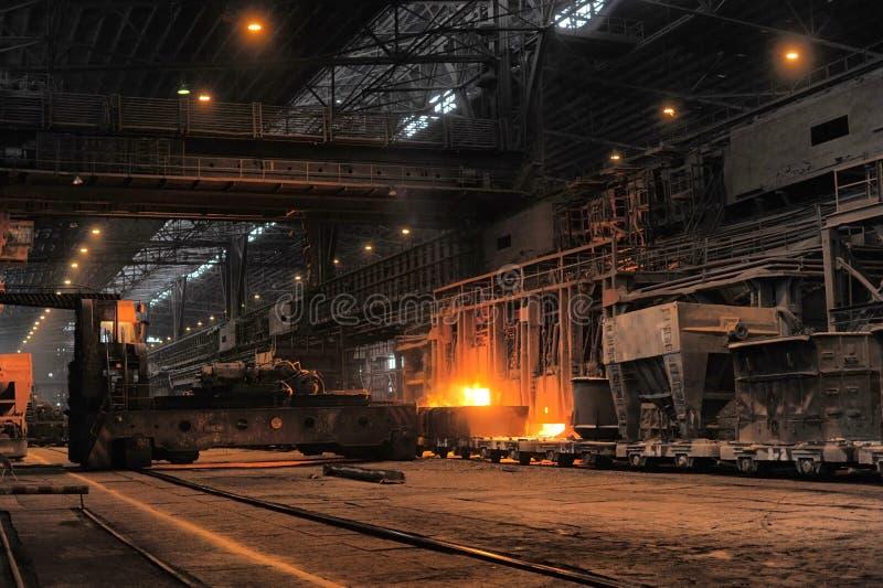 Download Smelting of the metal stock image. Image of iron, smoke - 35156743
