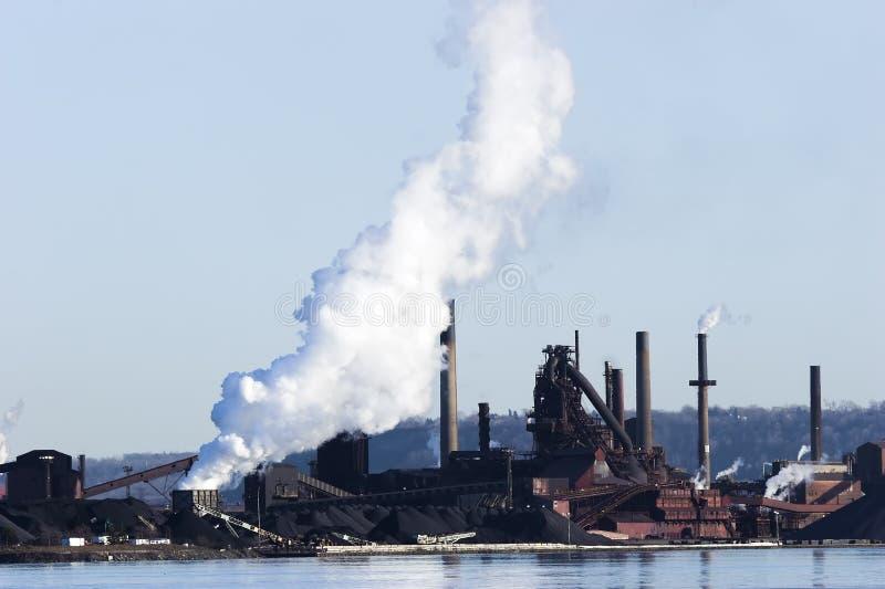 Download Smelting plant stock image. Image of coal, blue, global - 2412753