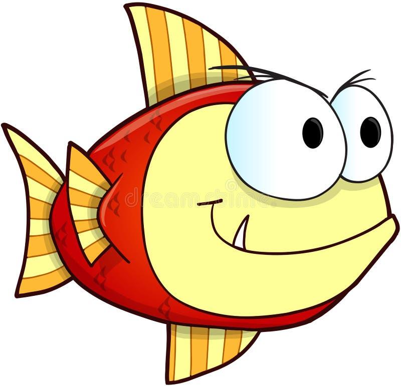 Smerige Vissenvector vector illustratie