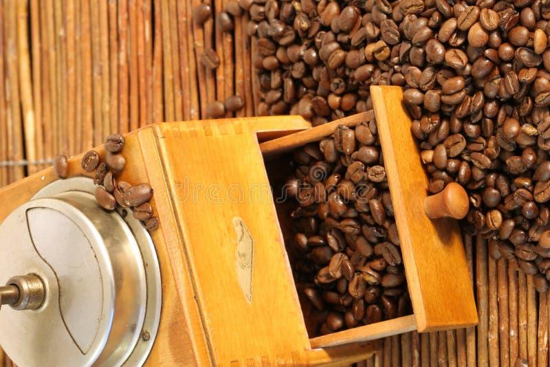 Smerigliatrice di caffè immagini stock