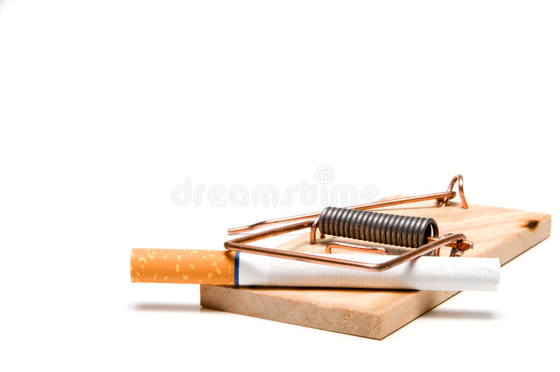 Smetta di fumare immagini stock libere da diritti