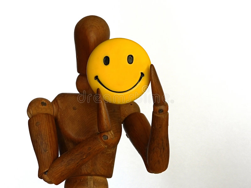 Download Smile stock image. Image of puppet, mood, yellow, happy - 120403