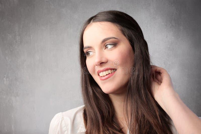 Download Smile stock image. Image of face, visage, beauty, brunette - 19650769