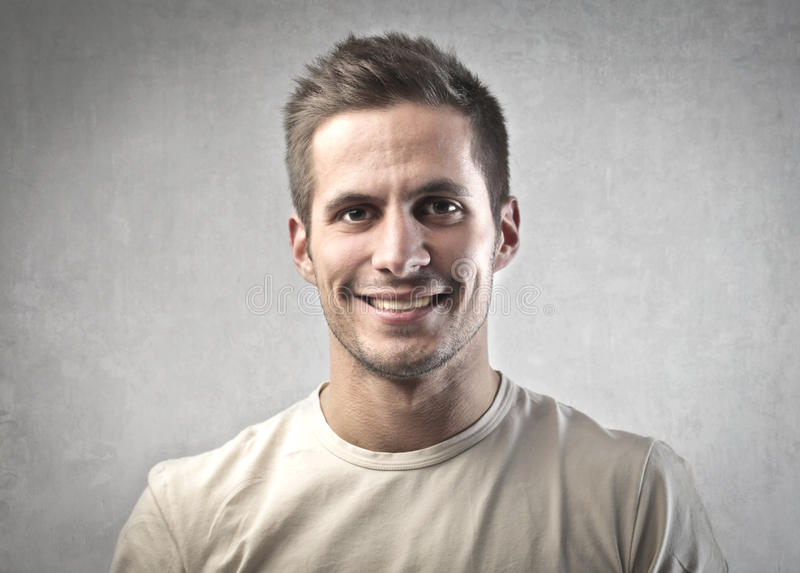 Download Smile stock image. Image of young, face, smile, male - 23494361
