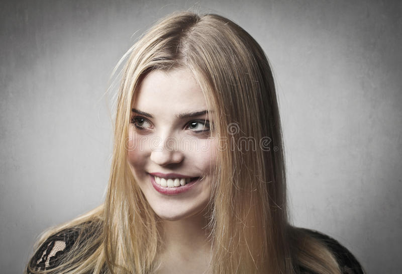 Download Smile stock image. Image of young, smile, wall, blonde - 23999887
